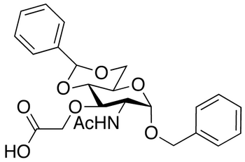 Benzyl 2-Acetamido-4,6-O-Benzylidene-3-Carboxymethyl-2-Deoxy-α-D- Glucopyranoside, cas 14595-22-3
