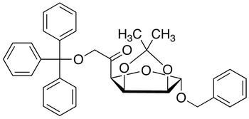 Benzyl 2,3-O-Isopropylidene-6-O-trityl-5-keto-α-D-mannofuranose, cas 91364-12-4