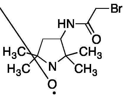 3-(2-Bromoacetamido)-2,2,5,5-tetramethyl-1-pyrrolidinyloxy, Free Radical