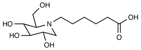 N-5-Carboxypentyl-1-deoxynojirimycin, cas 79206-51-2