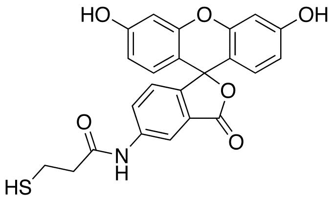 2-[(5-Fluoresceinyl)aminocarbonyl]ethyl Mercaptan