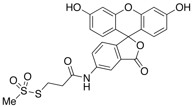 2-[(5-Fluoresceinyl)aminocarbonyl]ethyl Methanethiosulfonate