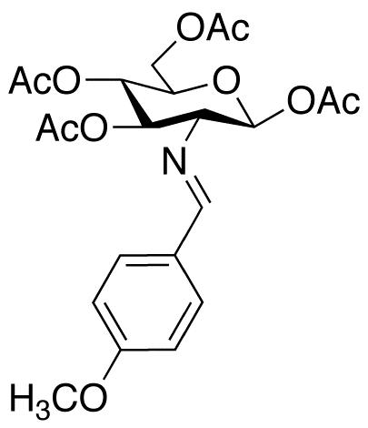 2-(4-Methoxybenzylidene)imino-2-deoxy-1,3,4,6-Tetra-O-acetyl-β-D-glucopyranose, cas 7597-81-1