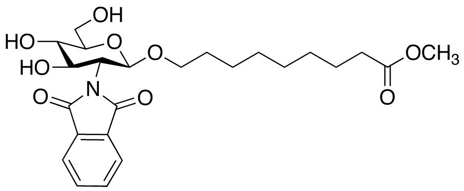 8-Methoxycarbonyloctyl-2-deoxy-2-phthalimido-β-D-glucopyranoside, cas 106445-25-4