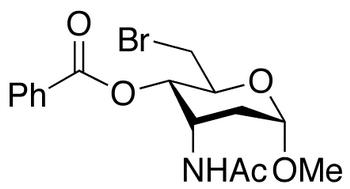 Methyl 3-Acetylamino-4-O-benzoyl-6-bromo-2,3,6-trideoxy -α-D-ribo-hexopyranoside, cas 57865-92-6