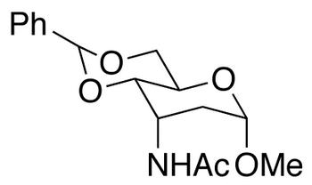 Methyl 3-(Acetylamino)-2,3-dideoxy-4,6-O-benzylidene-α-D-ribo-hexopyranoside, cas 23819-31-0