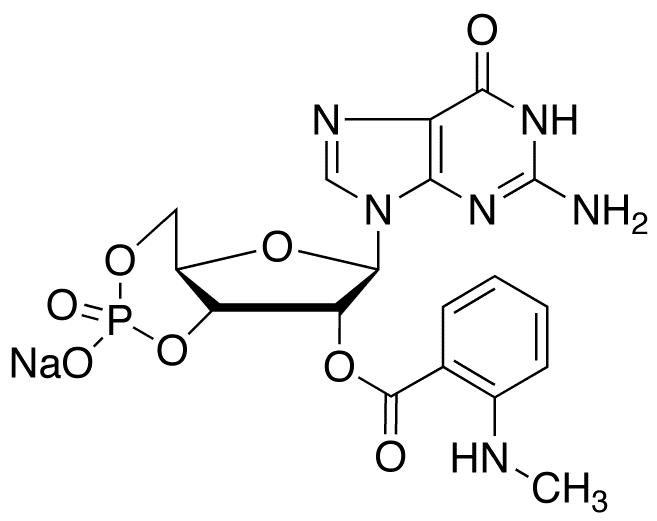 2'-(N-Methylanthraniloyl) Guanosine 3',5'-Cyclic Monophosphate Sodium Salt