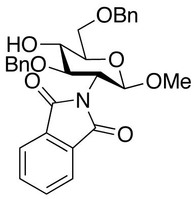Methyl 3,6-Di-O-benzyl-2-deoxy-2-N-phthalimido-β-D-glucopyranoside, cas 97242-79-0