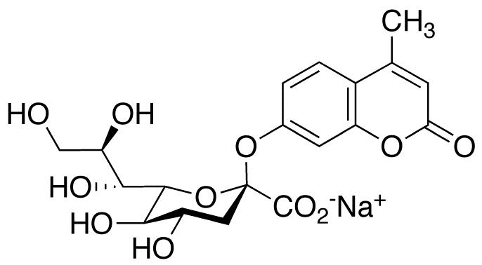 4-Methylumbelliferyl 3-Deoxy-D-glycero-D-galacto-2-nonulosonic Acid, Sodium Salt, cas 123269-95-4