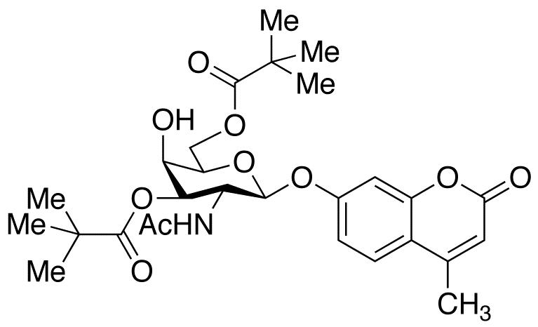 4-Methylumbelliferyl 2-Acetamido-2-deoxy-3,6-dipivaloyl-β-D-galactopyranoside, cas 849207-59-6