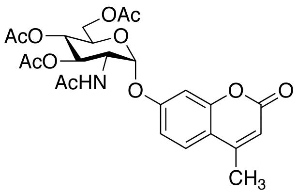 4-Methylumbelliferyl 2-Acetamido-2-deoxy-3,4,6-tri-O-acetyl-α-D-Glucopyranoside, cas 124167-45-9