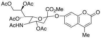 (4-Methylumbelliferyl)-N-acetyl-4,7,8,9-tetra-O-acetyl-α-D-neuraminic Acid, Methyl Ester, cas 59361-08-9