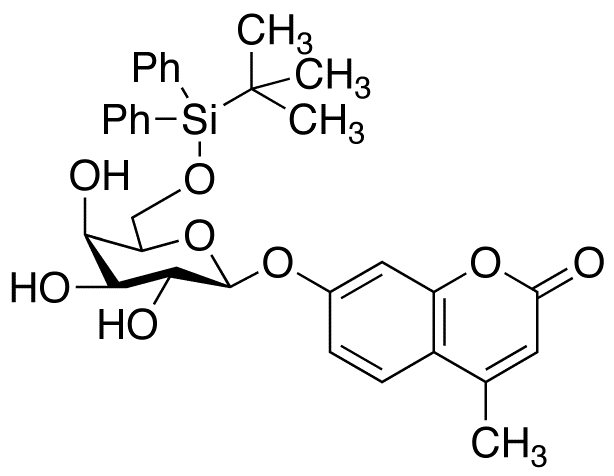 4-Methylumbelliferyl 6-O-(tert-Butyldiphenylsilyl)-β-D-galactopyranoside, cas 296776-03-9
