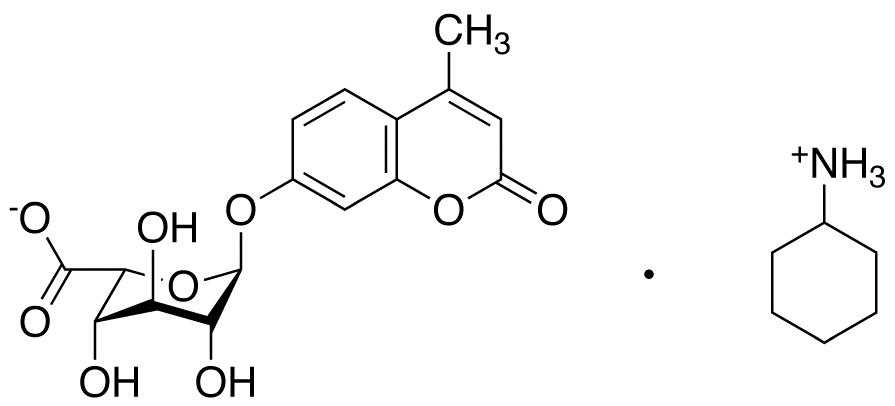 4-Methylumbelliferyl a-L-Idopyranosiduronic Acid Cyclohexylammonium Salt, cas 66895-33-8
