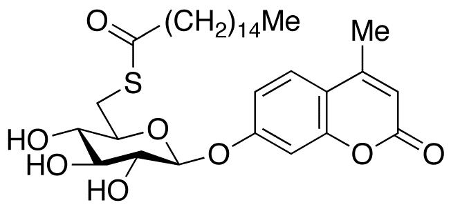 4-Methylumbelliferyl 6-Thio-palmitate-β-D-glucopyranoside, cas 229644-17-1
