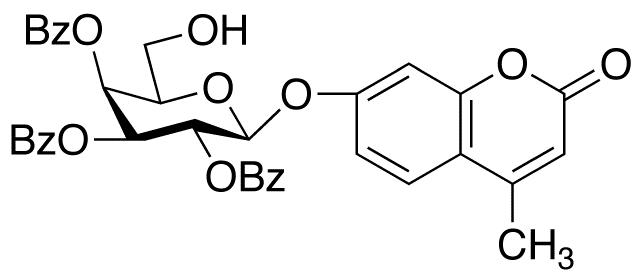 4-Methylumbelliferyl 2,3,4-Tri-O-benzoyl-β-D-galactopyranoside, cas 920975-59-3