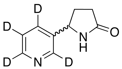 (R,S)-Norcotinine-pyridyl D4