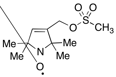 1-Oxyl-2,2,5,5-tetramethyl-3-(methanesulfonyloxymethyl)pyrroline