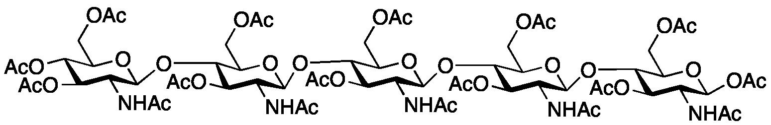 (1β4)-Pentaglucosamine Peracetate