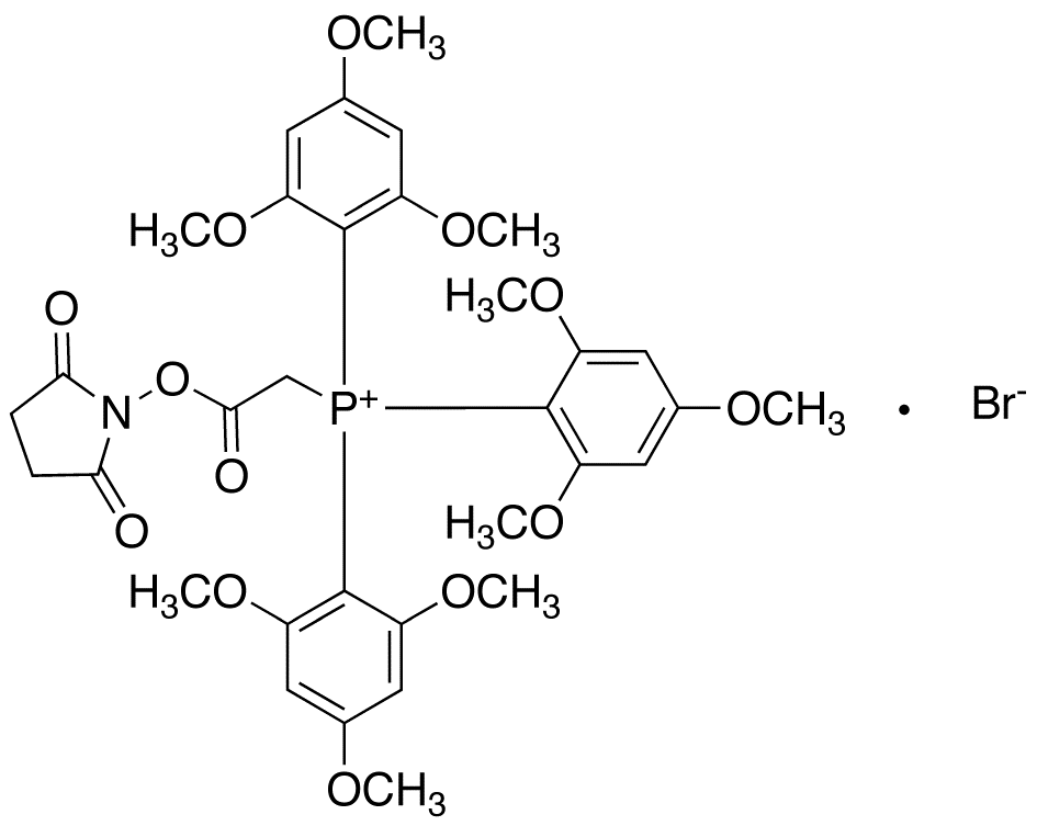 (N-Succinimidyloxycarbonyl-methyl)tris(2,4,6-trimethoxyphenyl)phosphonium Bromide