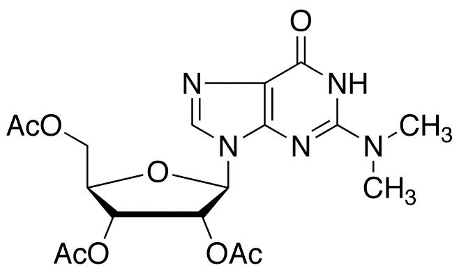 2',3',5'-Tri-O-acetyl-2N,2N-dimethyl Guanosine