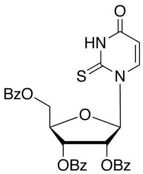 2',3',5'-Tri-O-benzoyl-2-thiouridine