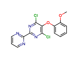 4,6-Dichloro-5-(2-methoxyphenoxy)-2,2-bipyrimidine