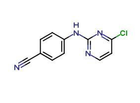 4-[(4-chloro-2-pyrimidinyl) amino] benzonitrile