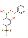 2-Benzyloxy-4-(trifluoromethyl)phenylboronic acid