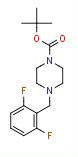 tert-Butyl 4-[(2,6-difluorophenyl)methyl]piperazine-1-carboxylate
