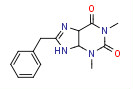 8-Benzyl-1,3-dimethyl-5,9-dihydro-4H-purine-2,6-dione