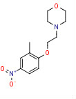 4-[2-(2-Methyl-4-nitrophenoxy)ethyl]morpholine