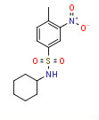 N-Cyclohexyl-4-methyl-3-nitrobenzenesulfonamide
