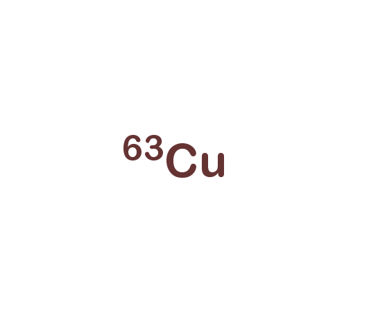 Copper-63 isotope