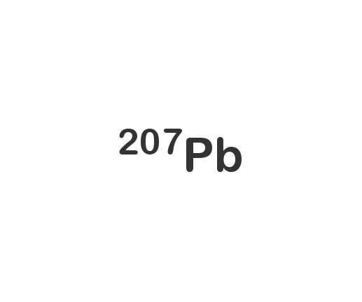 Lead-207 isotope