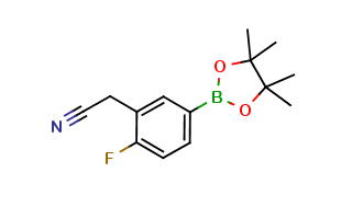3-Cyanomethyl-4-fluorobenzeneboronic acid pinacol ester, cas 1220219-51-1