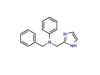 2-(N-Phenyl-N-benzyl-aminomethyl)-imidazol