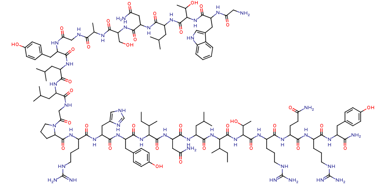 Galanin (1-13)-Neuropeptide Y (25-36) amide (H-3374.0500)