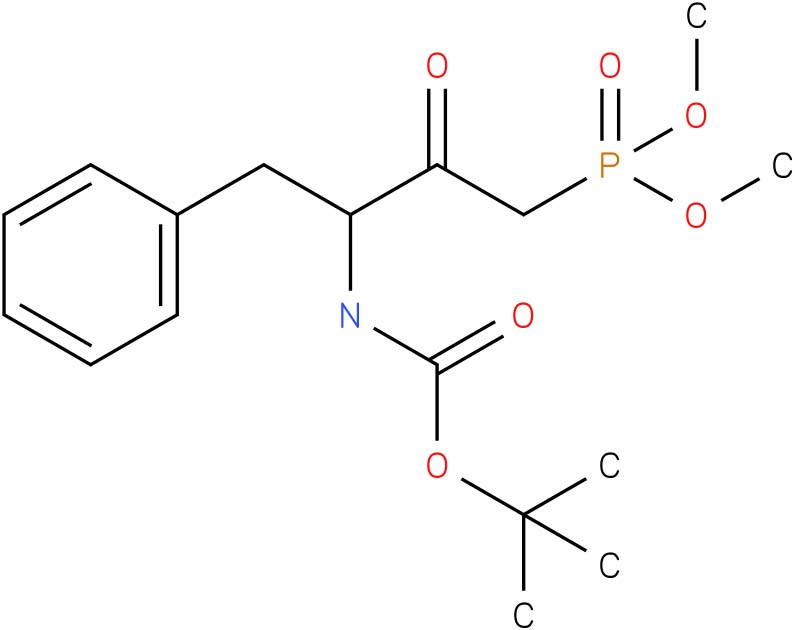 Dimethyl((3S)-4-phenyl-3-(Boc-amino)-2-oxobutyl)phosphonate (Q-2140.0005)
