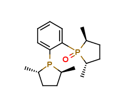 (-)-(2S,5S)-1-{2-[(2S,5S)-2,5-Dimethylphos-pholan-1-yl]phenyl}-2,5-dimethylphospholane 1-oxide