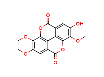 2,3,8-Tri-O-methylellagic acid, cas 1617-49-8