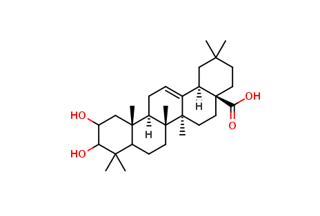 2,3-Dihydroxy-12-oleanen-28-oic acid