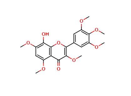 8-Hydroxy-3,5,7,3,4,5-hexamethoxyflavone