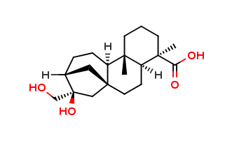 ent-16&#946,17-Dihydroxykauran-19-oic acid