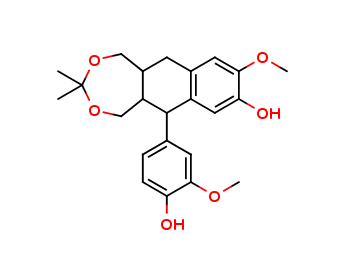 Isolariciresinol 9,9-acetonide, cas 252333-71-4