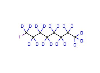 1-Iodooctane-d17 (stabilized with copper)