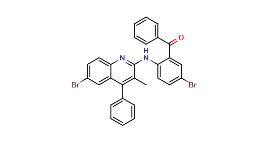 (5-BR-2-(6-BROMO-3-METHYL-4-PHENYL-QUINOLIN-2-YLAMINO)-PHENYL)-PHENYL-METHANONE