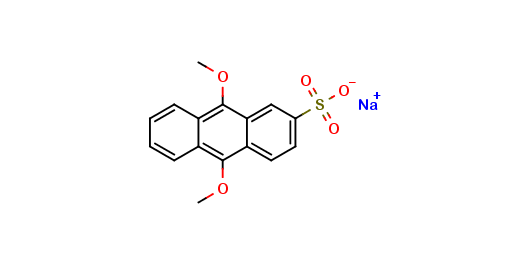 9,10-Dimethoxyanthracene-2-sulfonic acid sodium salt