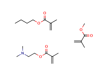 2-Propenoic acid, 2-methyl-, butyl ester, polymer with 2-(dimethylamino)ethyl 2-methyl-2-propenoate and methyl 2-methyl-2-propenoate