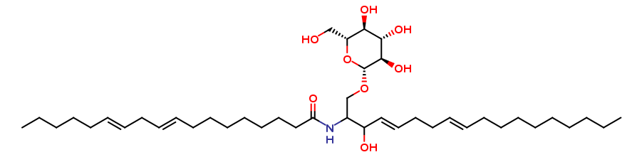 Glycosylceramides from wheat